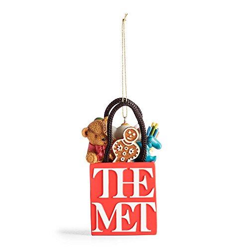 Logo Ornament (Met Logo Shopping Bag Ornament)