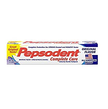 Pepsodent Complete Care Toothpaste Original Flavor 5.5 oz