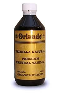 Pure Organically Grown Mexican Vanilla (Amber Colored) (4 Fl. Oz.)