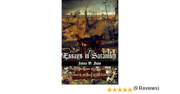 essays in satanism james d sass com books