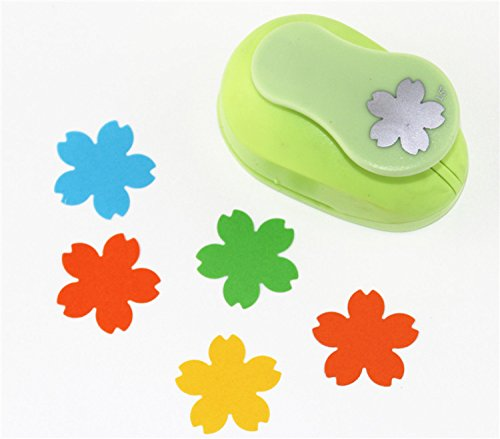 Making Memories Blossoms Paper Flowers - CADY Crafts Punch 1.5-Inch Paper Punch Craft Punches (Cherry Blossoms)