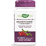 Nature's Way HeartCare Standardized Hawthorn, 160 mg per serving, 120 Tablets