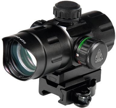 "UTG 4.2"" ITA Red/Green CQB Dot with QD Mount, Riser Adaptor by UTG"