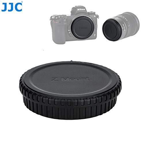 Jjc Camera Body Cap for Nikon Z6 Z7, Rear Lens Cap for Nikon Z Lens, Cap Body Cap Compatible with Nikon Z6 Z7 Mirrorless Camera Lens ()