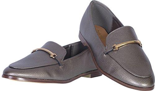 Catherine Malandrino Damen Slip-On Loafer Zinn