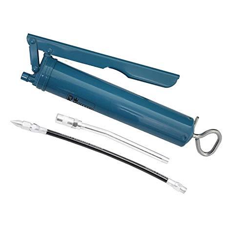 Pistola de engrase de acero con tubo de boquilla de alta presi/ón de seguridad 500 ml rosca de conexi/ón M10x1