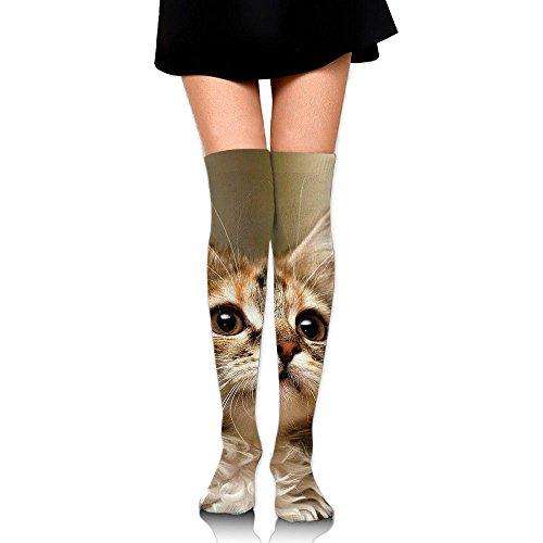 Octopus Costume Australia (Cute Cat Women's & Baby Girl's 3D Print Knee High Socks Venting Long Socks Sports Knee High Cotton Socks)
