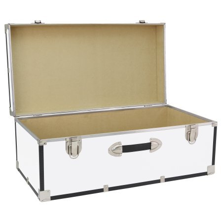 Seward Trunk` 30'' Storage Trunk (White)
