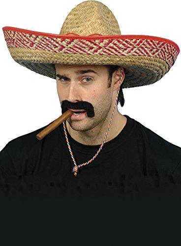 Sombrero Straw Hat Costume Accessory - Hat Straw Sombrero