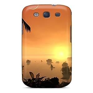 Cute High Quality Galaxy S3 Palm Isl Case