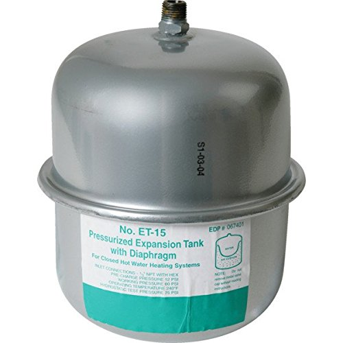 ITEM#640020 Watts 2.1 Gallon Expansion Tank by Watts