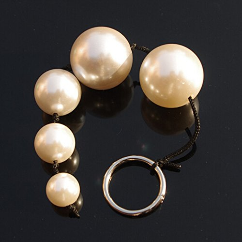 5 Beads Big Ball Pearl Anal Plug Toys Anal Beads Butt Plug Gay Sex Toys Erotic Adult Games Products for Men Women