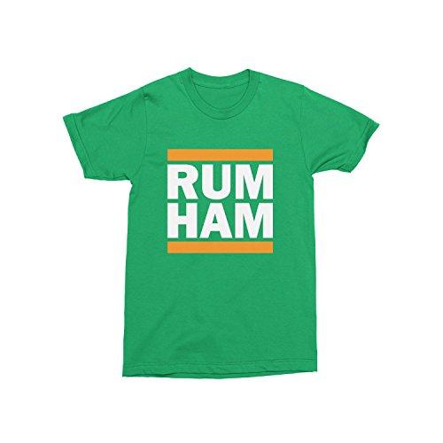 Day Owl Rum Ham ST Patrick's Edition T-Shirt (Large)