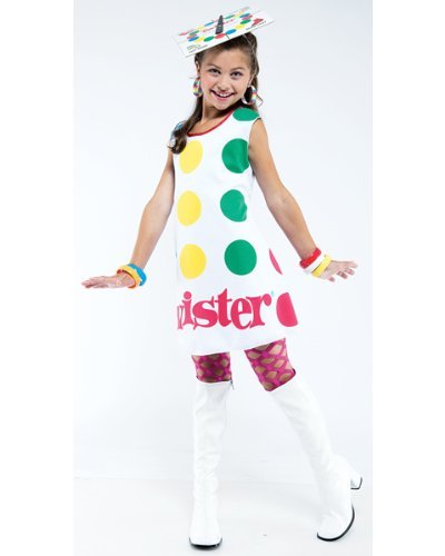 Twister Kids Costume - Twister Girl Halloween Costume