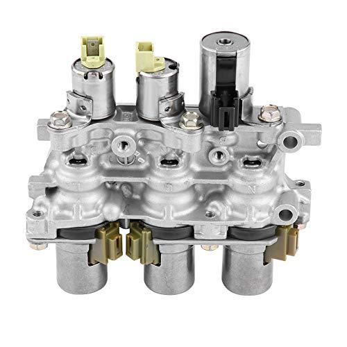 5 Speed Auto Transmission - OEM Transmission Solenoid Block 4F27E, Keenso Transmission Solenoid Block Pack Parts for Bottom Valve Body 5 Speed Auto, OEM 4F27E