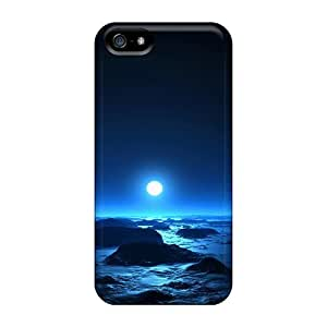 Awesome Sbs17609cIuG DeannaTodd Defender Hard Cases Covers For Iphone 5/5s- Sea The Moon