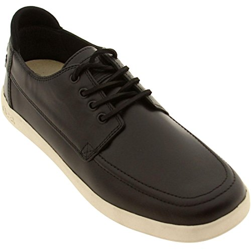Clae Men's Zissou (black leather)-11.0