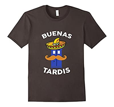 Buenas Tardis Who is the Doctor Parody Funny Spanish T-Shirt