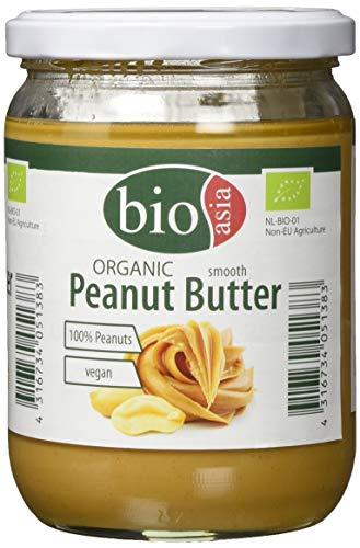 BioAsia 유기 땅콩 버터, 2- 팩 (2 × 500g)