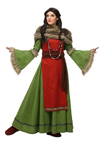 Plus Size Women's Peasant Viking Costume 2X