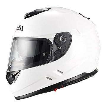 NZI Casco de moto integral Symbio blanco M