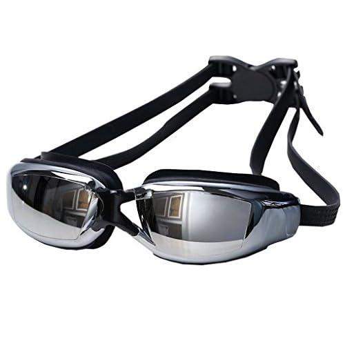 AooPoo Lunettes de Natation Myopie Adulte Lunettes de Piscine Homme Femme Correctrices Antibuée Étanche Swimming Goggles