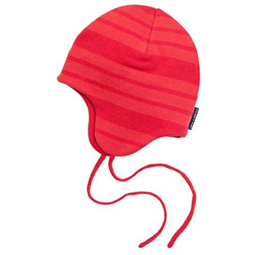 Polarn O. Pyret Signature Stripe Helmet (Baby) - 4-9 Months/Paradise Pink