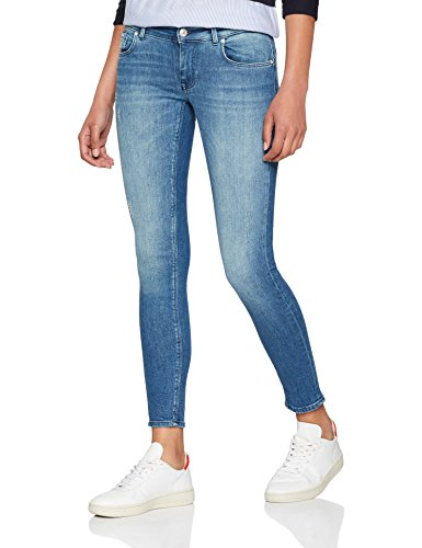 Skinny ONLY Medium Denim Femme NOS Gris Jean Blue OSgxqPnw4S