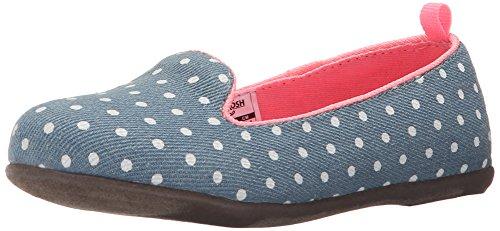 OshKosh B'Gosh Eva5-G Fashion Loafer (Toddler/Little Kid), Blue, 8 M US Toddler