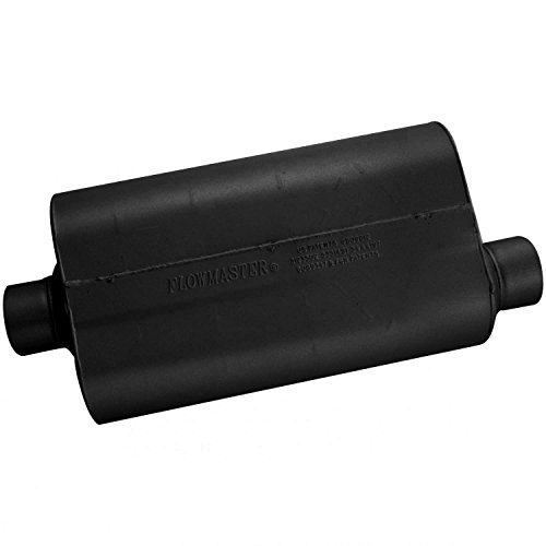 Flowmaster Universal Mufflers - Flowmaster 853057 Super 50 Muffler 409S - 3.00 Center IN / 3.00 Offset OUT - Moderate Sound