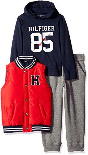 Tommy Hilfiger Pieces Pants Set Solid