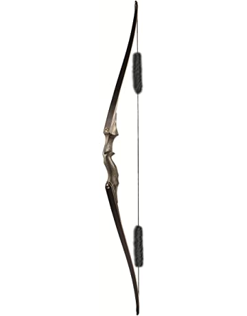 5e575c53 Archery Takedown Long Bow 60inch Traditional Hunting Bow with Flemish  String and Hair String Silencer Target