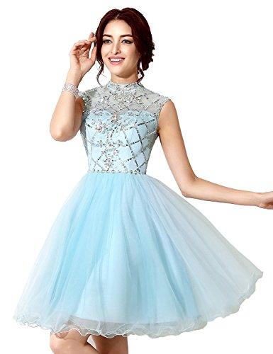 in stock short prom dresses - 1
