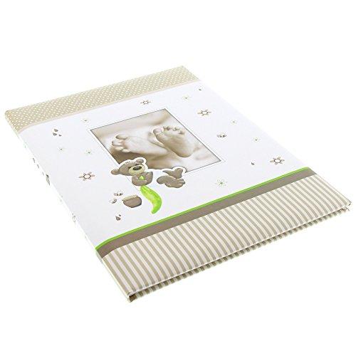 Goldbuch Babytagebuch Honigbär, 21x28cm, 44 illustrierte Seiten mit Pergamin, Kunstdruck, 11238