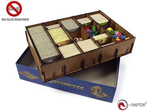 E-Raptor S era19067 No Insert: Carcassonne, Juego: Amazon.es ...