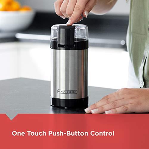 BLACK+DECKER coffee grinder
