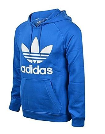 50ce652ab786 Adidas Originals Men s Trefoil Retro Fleece Casual Sweat Top Hooded Hoody  Hoodie (S
