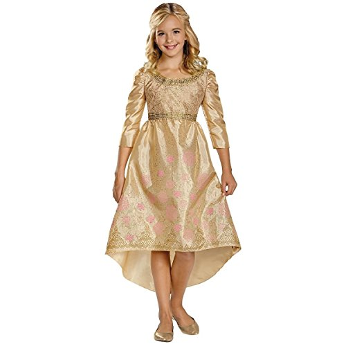GSG Aurora Coronation Gown Costume Kids Maleficent Halloween Fancy Dress