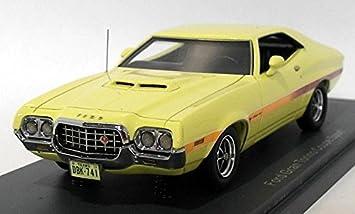 Amazon Com Ford Gran Torino Sport Light Yellow  Model Car Ready Made Neo  Neo Toys Games