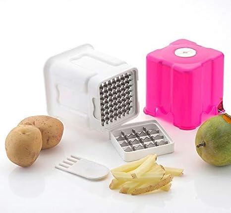 5987aefa136 Buy Potato Chips Slicer Stainless Steel 2 in1 Potato Chipser