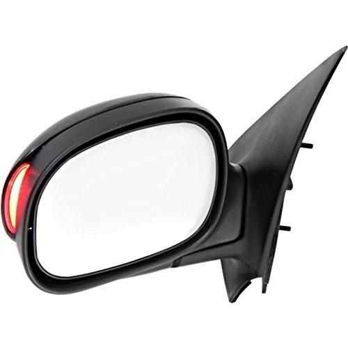 (VAM Fits Ford 01-03 F150 Supercrew Cab Left Driver Power Mirror Signal Unpaint No Ht)