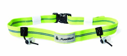 - FuelBelt Ironman Collection Reflective Race Number Belt, Blue/Green, One Size