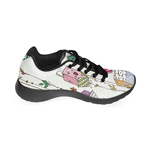 Interestprint Femmes Jogging Running Sneaker Léger Aller Facile À Pied Confort Sport Athlétique Chaussures Multi 6