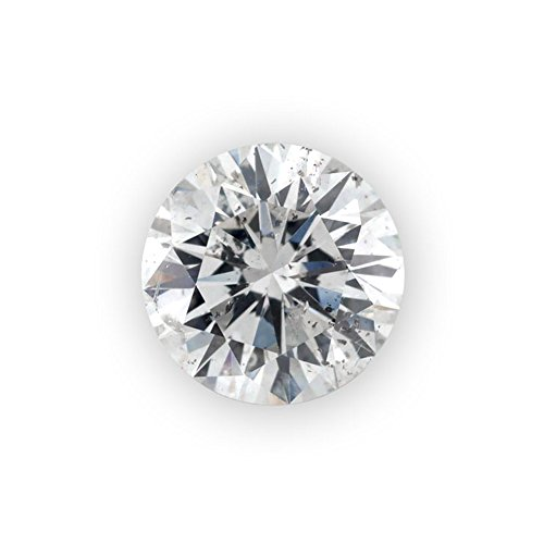 Glitz Design 0.01 ct Round Brilliant Cut 1.30 mm J I1 Loose Diamond Natural Earth-mined