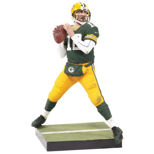 NFL Green Bay Packers McFarlane 2012 Series 29 Aaron Rodgers Action - Rogers Green Bay Aaron Packers