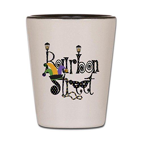 CafePress - Bourbon Street - Shot Glass, Unique and Funny Shot Glass