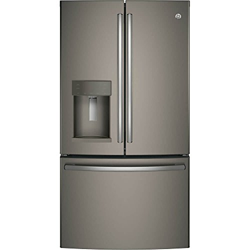 GE GFE26GMKES 25.8 Cu. Ft. Slate French Door Refrigerator - Energy Star by GE
