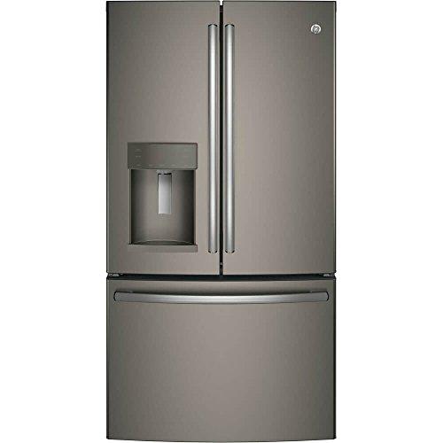 GE GFE26GMKES 25.8 Cu. Ft. Slate French Door Refrigerator - Energy Star Energy Star French Door Refrigerator