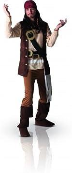 Disfraz adulto pirata Jack Sparrow Disney XL (44-46