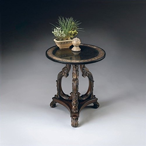 BUTLER 2347070 LAFAYETTE ROUND STONE ACCENT TABLE ()